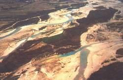 Vista del fiume Tagliamento